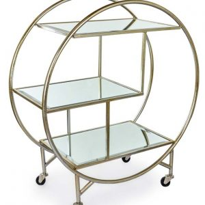 Antique Silver Drinks Trolley