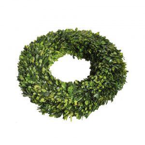 Buxus wreath round large