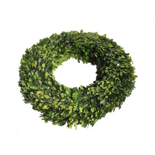Buxus wreath round large