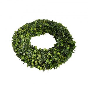 Buxus wreath round small