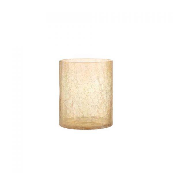 Crackle Glass Hurricane