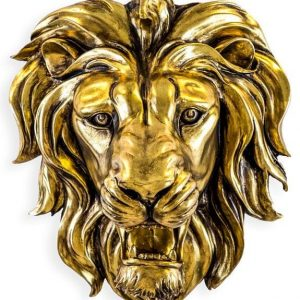 Gold Roaring Lion