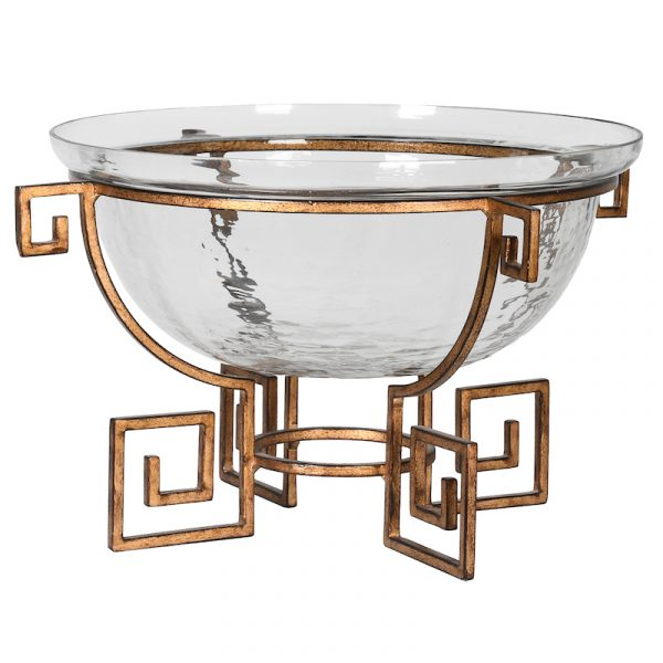 Greek Key Bowl - Source Interiors