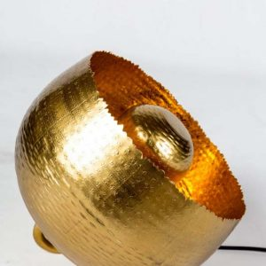 Jamie gold lamp