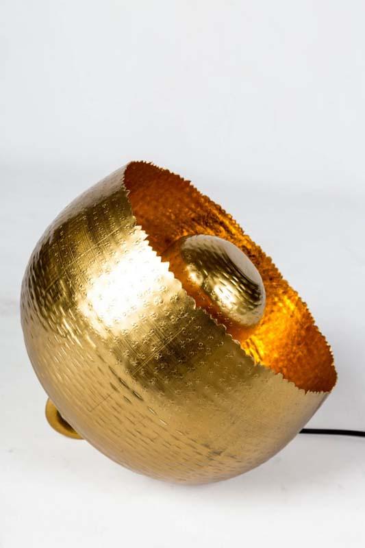 Jamie gold lamp