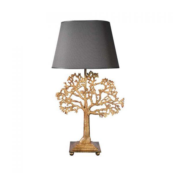 Large gold Arbre lamp