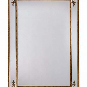 Gold French mirror - Large