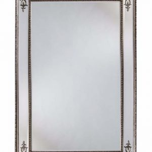Silver French mirror - Large