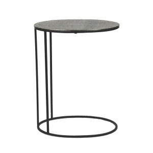 Paso side table silver