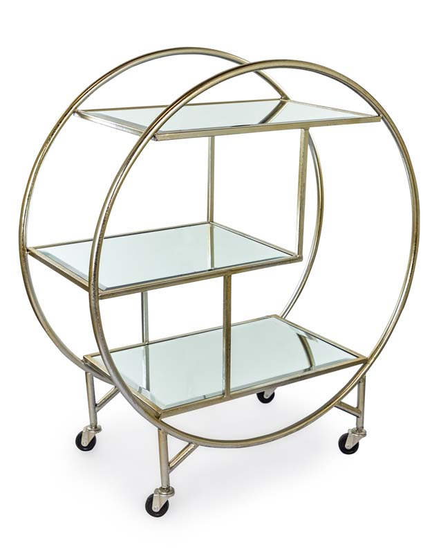 Antique Silver Drinks Trolley €329.00