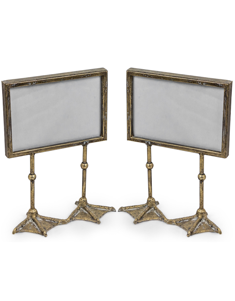 Antique Silver Duck Feet Landscape Photoframe €25.00