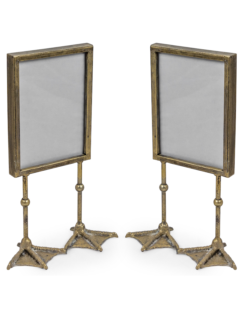 Antique Silver Duck Feet Portrait Photoframe €25.00