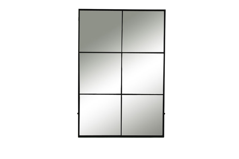 Black 6 Piece Mirror - €275.00