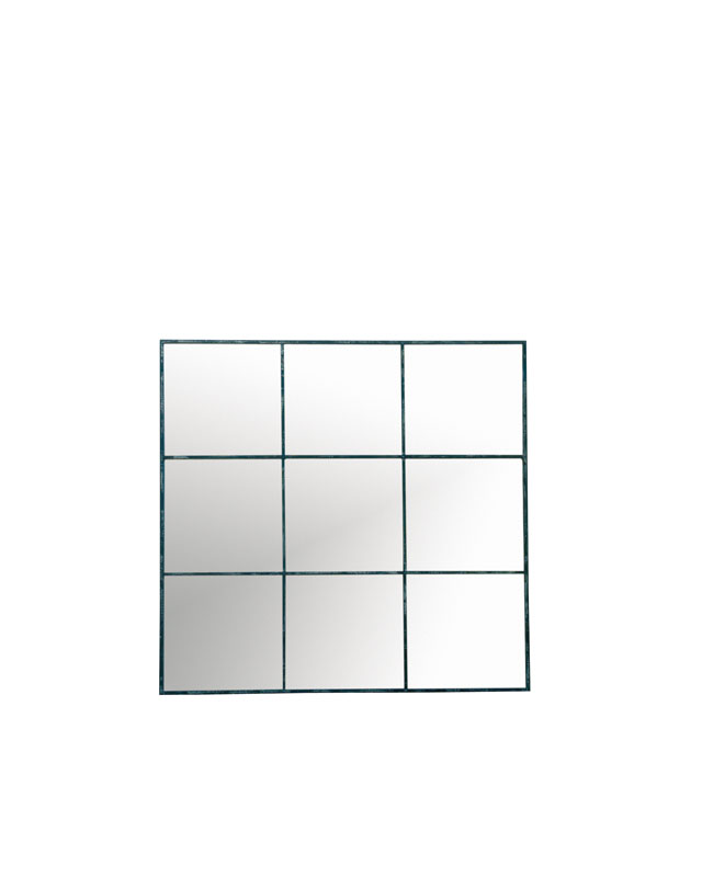 Black 9 Piece Mirror - €385.00