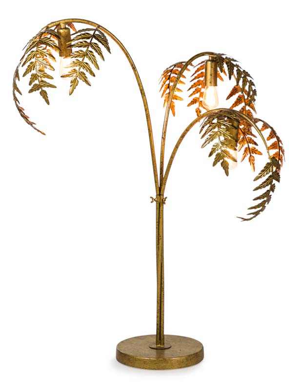 Gold Palm Table Lamp €289.00