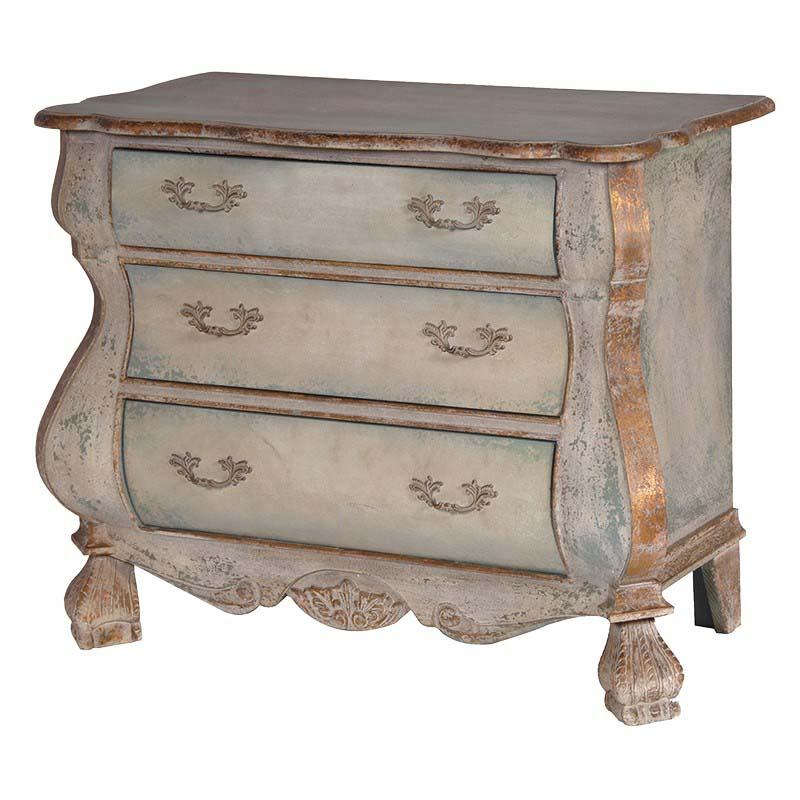 Gold Trim Chest of Drawers €799.00