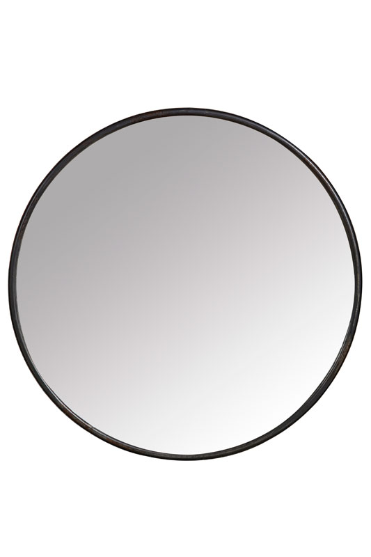 Large Black Boudoir Mirror - €115.00