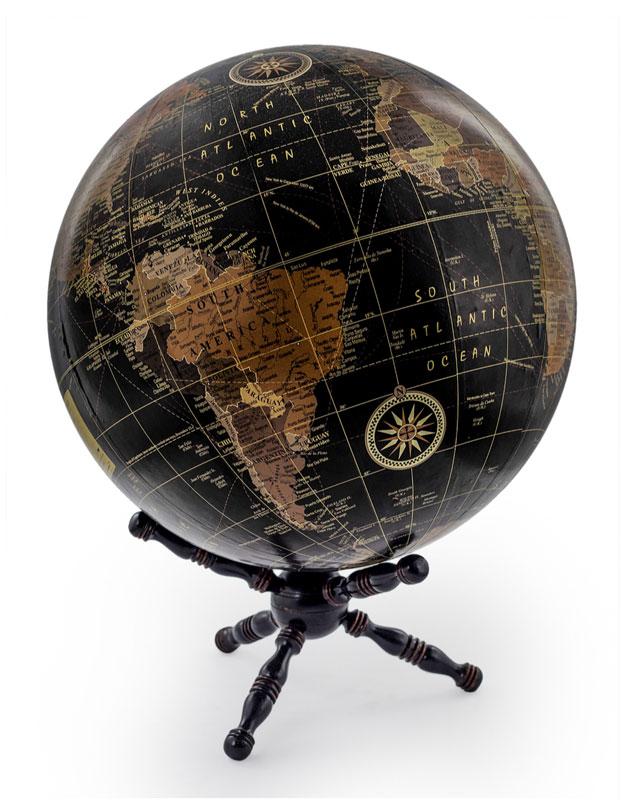 Large Black Globe - €99.00