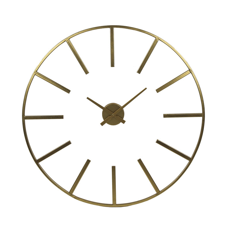 Large Frame Gold Clock €129.00