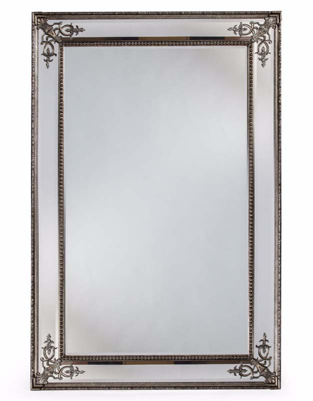 Large Silver French Mirror €699.00