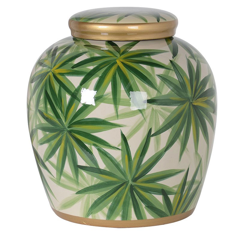 Leaf Ginger Jar - €89.00