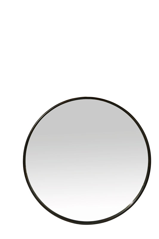 Medium Black Boudoir Mirror - €59.00