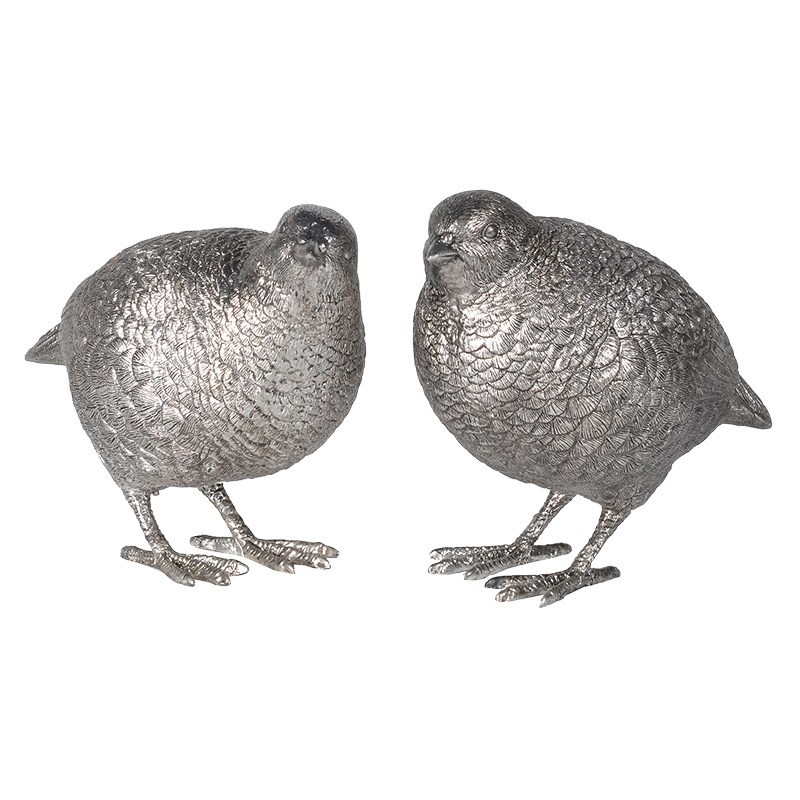 Pair of Silver Quails €29.00