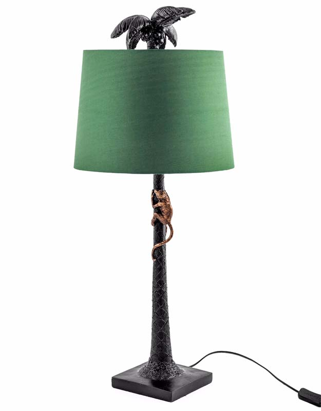 Palm Tree with Climbing Monkey Lamp - €149.00
