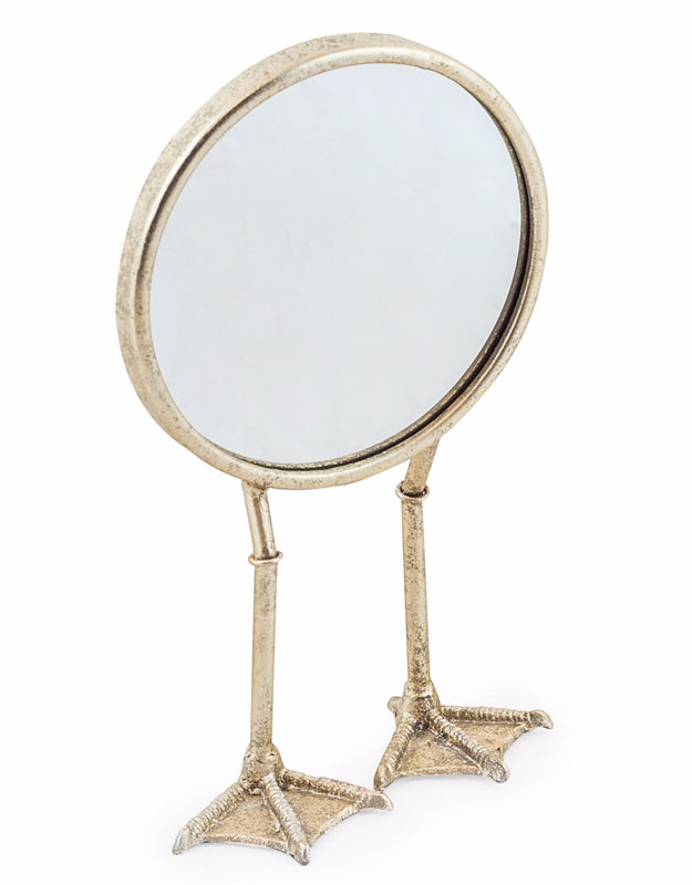 Silver Bird Legged Mirror - €35.00