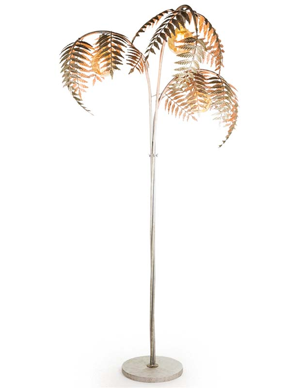 Silver Palm Floor Lamp €489.00