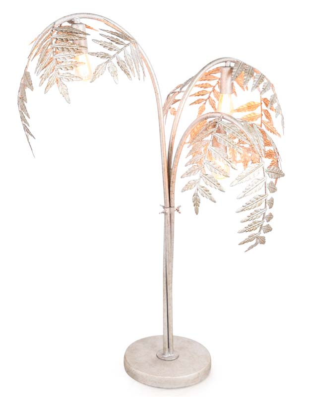 Silver Palm Table Lamp €289.00