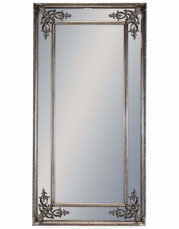 Tall Silver French Mirror €479.00