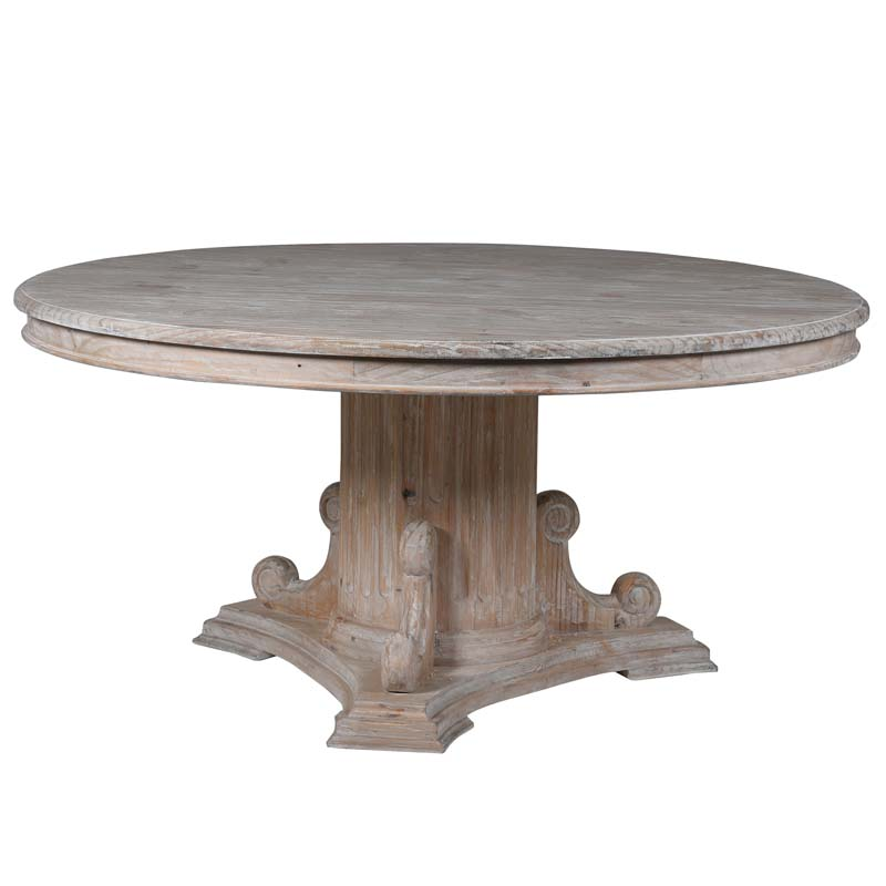White Wash Dining Table €2299.00