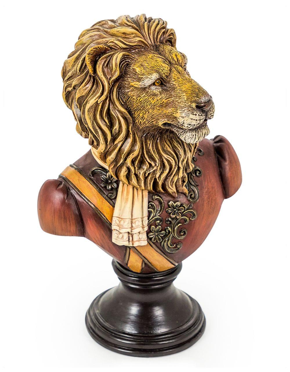 Lion Bust - €69.00 | H34xW21xD15cm